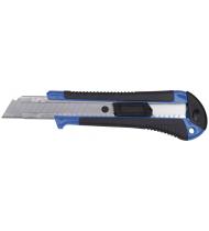 Нож технический пластиковый обрезиненный 18 мм