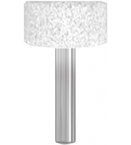 Шарошка абразивная, цилиндр 25х13 мм
