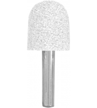 Шарошка абразивная, цилиндр закругленный 20х25 мм
