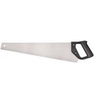 """Ножовка по дереву """"Эконом"""", мелкий зуб, шаг 3 мм, пластиковая ручка, 400 мм"""