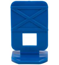 СВП ( Система Выравнивания Плитки), Зажимы 50 шт. ( синие )