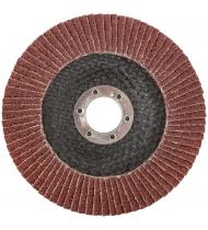 Круг лепестковый торцевой плоский 125 мм  P 24