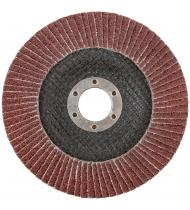 Круг лепестковый торцевой плоский 125 мм  P 40