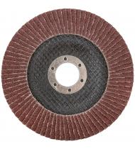 Круг лепестковый торцевой плоский 125 мм  P 60