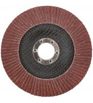 Круг лепестковый торцевой плоский 125 мм  P 80