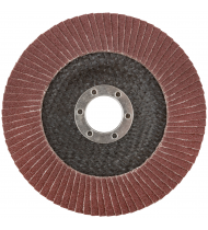 Круг лепестковый торцевой плоский 125 мм P 100