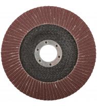 Круг лепестковый торцевой плоский 125 мм P 120